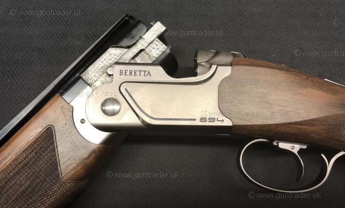 Beretta 12 gauge 694 Trap Adjustable