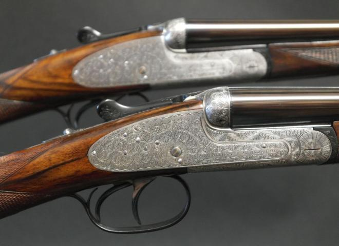 AYA 28 gauge #2 Sidelock round body (Pair)