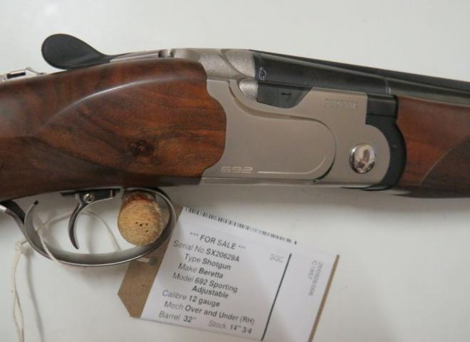 Beretta 12 gauge 692 Sporting Adjustable