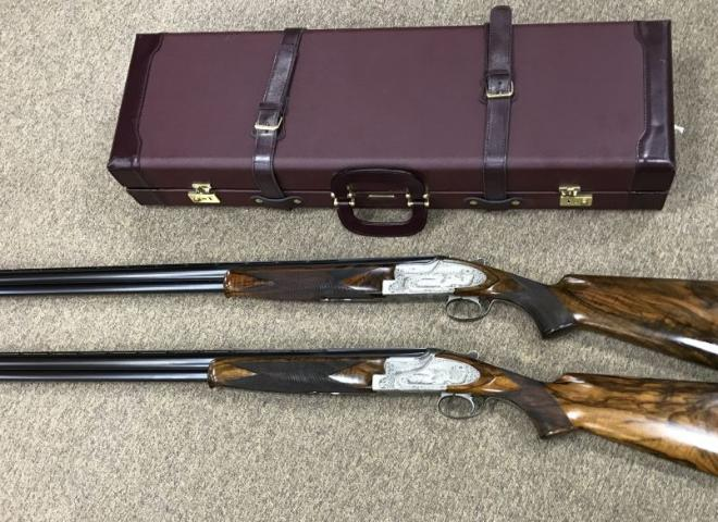Browning 12 gauge B25 C2S ((Custom Pair))