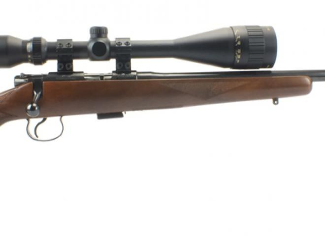 CZ .22 LR 452 American Wood and blued