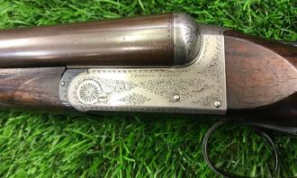 Rosson, Charles S. & Co. 12 gauge Boxlock Ejector - Image 1