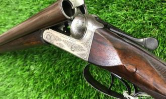 Rosson, Charles S. & Co. 12 gauge Boxlock Ejector - Image 2
