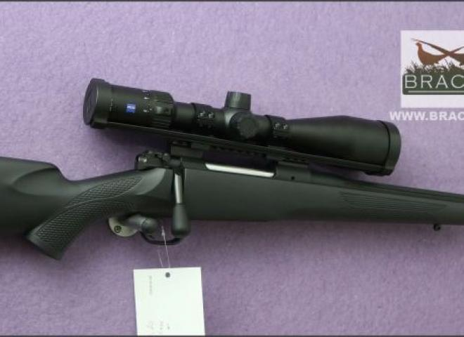 Mauser .243 M12 Impact Black Illuminated Zeiss Package