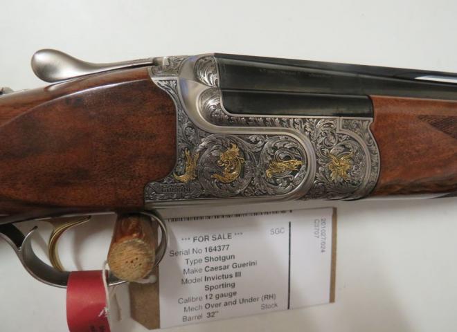 Caesar Guerini 12 gauge Invictus III (Sporting)