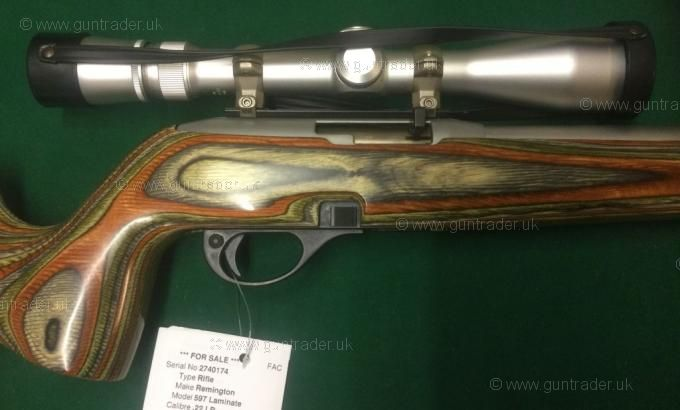 Remington .22 LR 597 Laminate