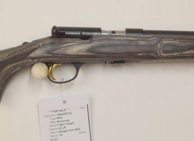 Browning .22 LR T Bolt Target