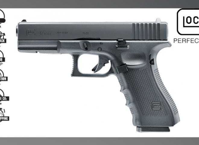 Umarex .177 Glock 17 Dual (Pellets or BB's)