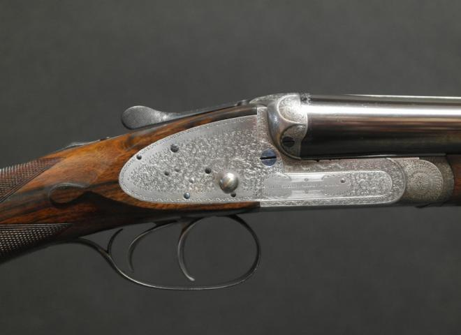 Woodward, James & Sons 12 gauge Best Sidelock Ejector