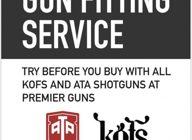 KOFS 12 gauge SCEPTRE (SPORT (FREE FITTING & DEMO)