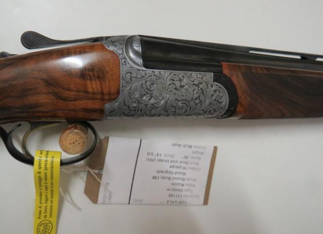 Rizzini 16 gauge Round Body EM (Wood Upgrade)