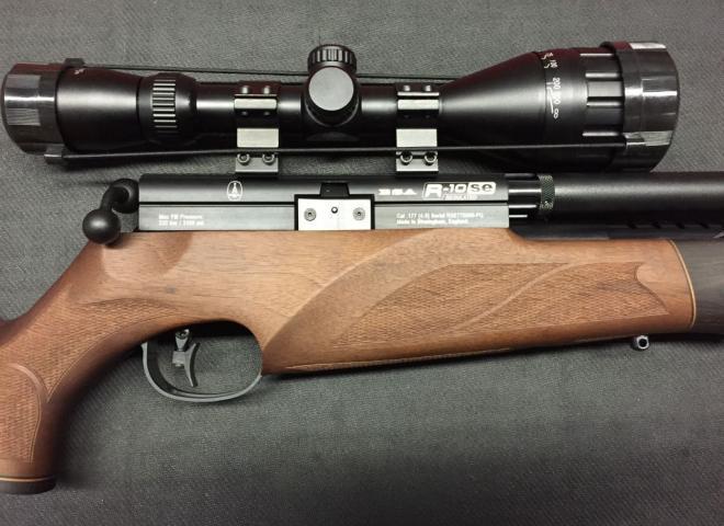 BSA .177 R10 SE Super Carbine Walnut