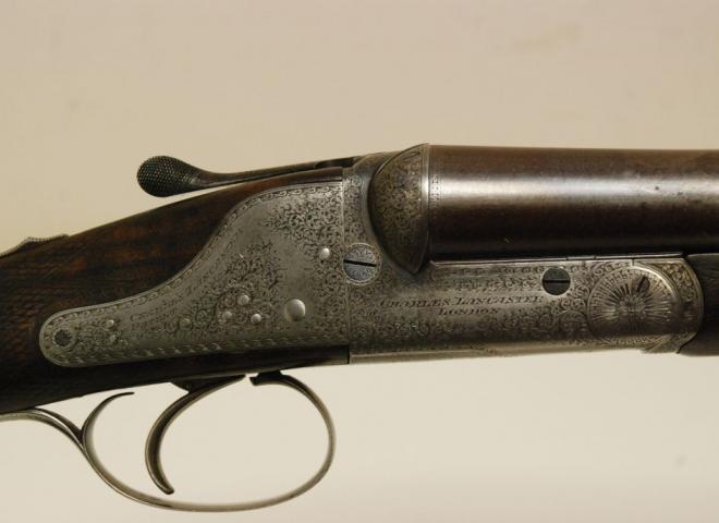 Lancaster, Charles 12 gauge Sidelock Ejector (Single Trigger)