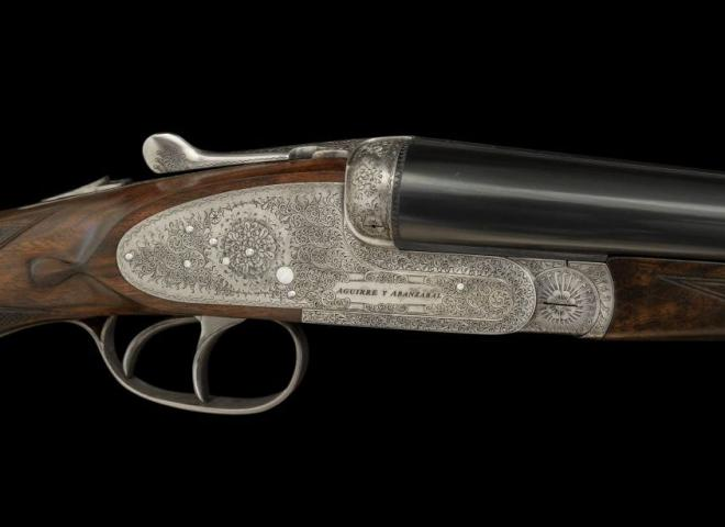 AYA 12 gauge English Game Sidelock (Long-Stocked)