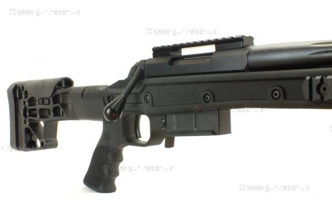 Browning .308 X Bolt MDT Fluted black
