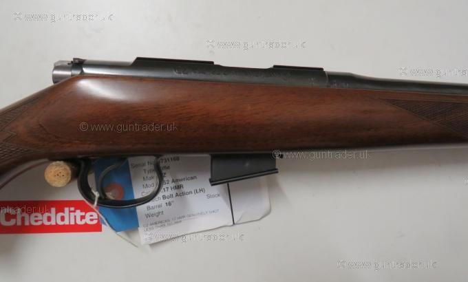 CZ .17 HMR 452 American