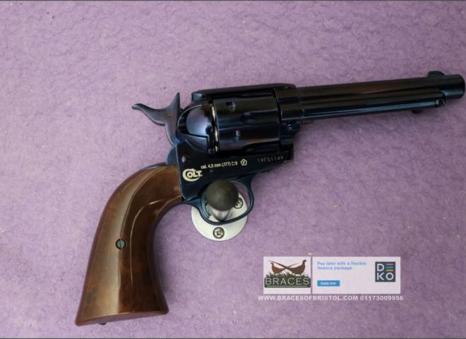 Umarex .177 Colt Single Action Army Blued