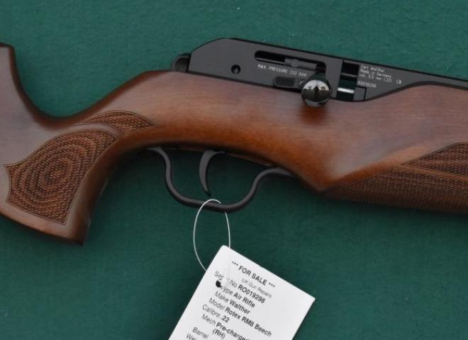 Walther .22 Rotex RM8 Beech