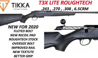 Tikka .243 t3x lite Roughtech Fluted New - Image 1