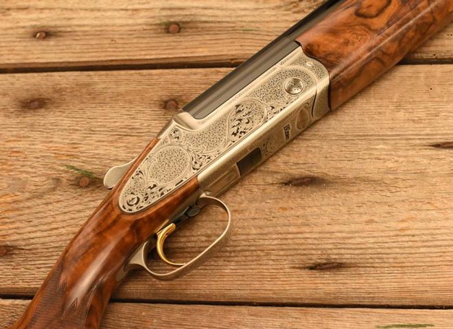 Blaser 12 gauge F3 Baronesse (Arabesque Scroll)