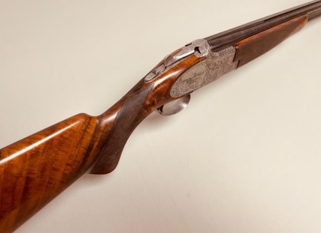 Browning 12 gauge B25 Custom Sideplate