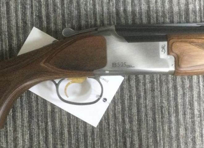 Browning 12 gauge B525 Game (BROWN LAMINATE)