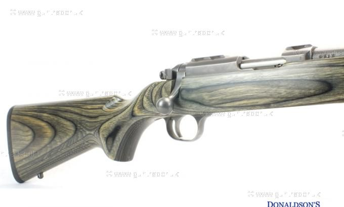 Ruger .17 HMR 77/17 Stainless Laminated