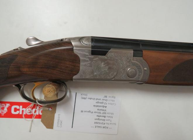 Beretta 12 gauge 687 Silver Pigeon III Vittoria (Adjustable)