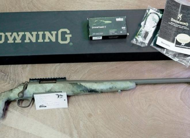 Browning 6.5mm Creedmoor A Bolt 3 Composite