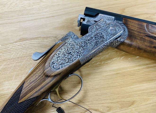 ATA 12 gauge SP Sporting Hand Engraved