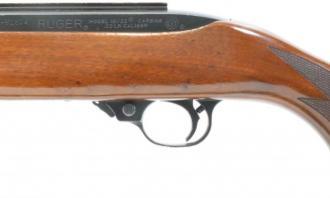 Ruger .22 LR 10/22 Delux Walnut Blued - Image 4