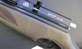 Air Arms .22 S410F Rifle Superlite Hunter Green - Image 3