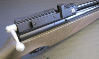 Air Arms .22 S410F Rifle Superlite Hunter Green - Image 6