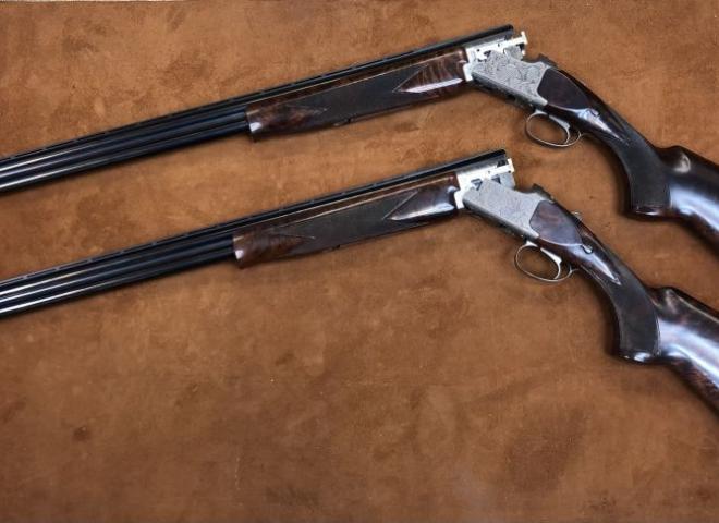 Miroku 20 gauge MK 60 Grade 5 High Pheasant Pair
