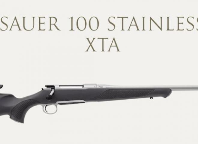 Sauer 6.5mm Creedmoor 100 Stainless XTA