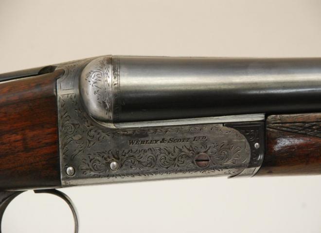Webley & Scott 12 gauge 700  Boxlock
