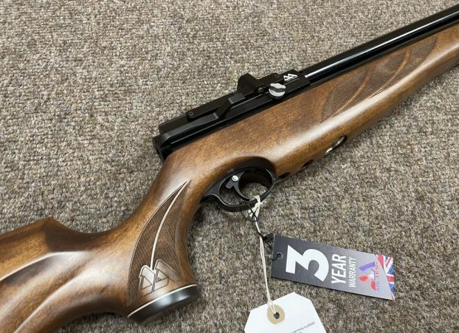 Air Arms .22 S510 XS Extra Superlite Traditional Brown
