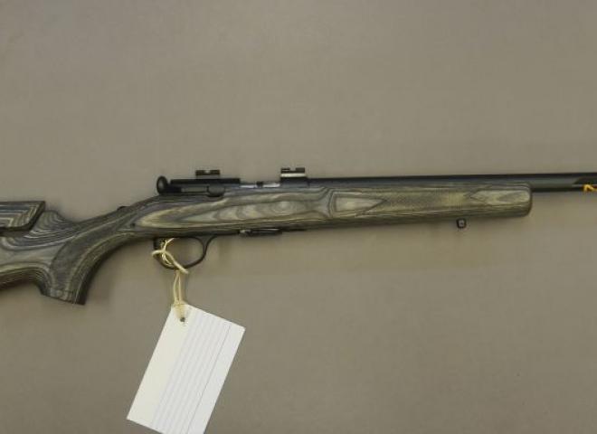 Browning .17 HMR T Bolt Target Varmint (Blued Grey Laminate Adjust)