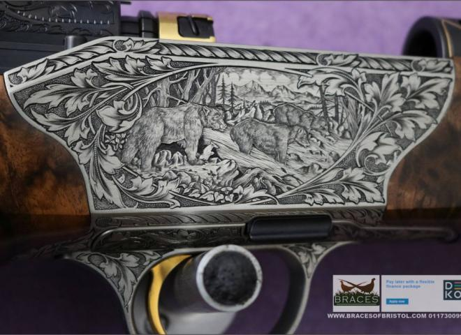 """Blaser .300 Win Mag R8 Custom """"Down By The River"""" Grade 10"""