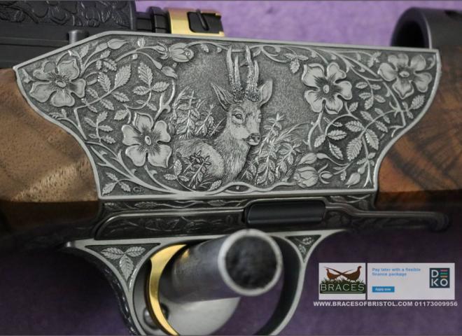 """Blaser 6.5mm Creedmoor R8 Custom """"Gold Medal"""" Grade 10"""