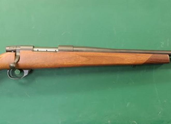Weatherby .22-250 Vanguard 2 SPORTER (Wood / Blued barrel)