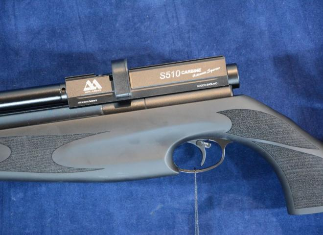 Air Arms .177 S510 Ultimate Sporter Carbine (Soft Touch Black Stock)