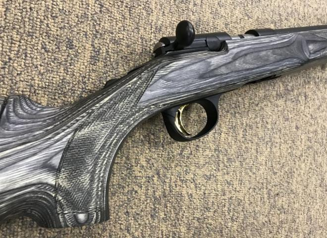 Browning .17 HMR T Bolt Target Varmint Grey Laminate ((Adjustable))
