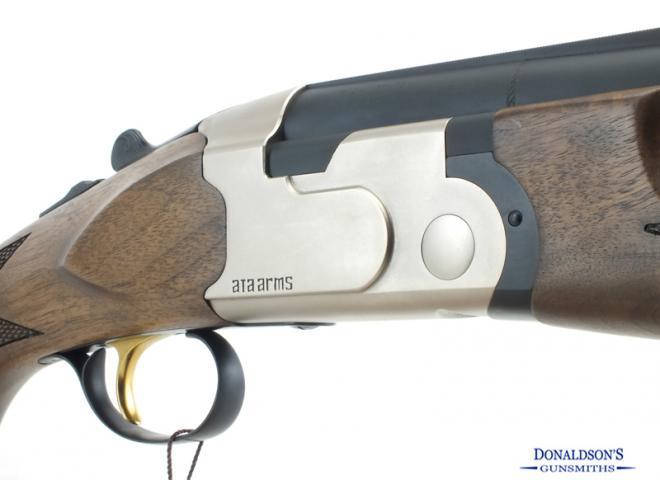 ATA 12 gauge SP Nickel Sporter
