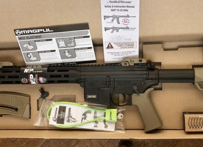 Smith & Wesson .22 LR M&P 15-22 Sport II MOE FDE