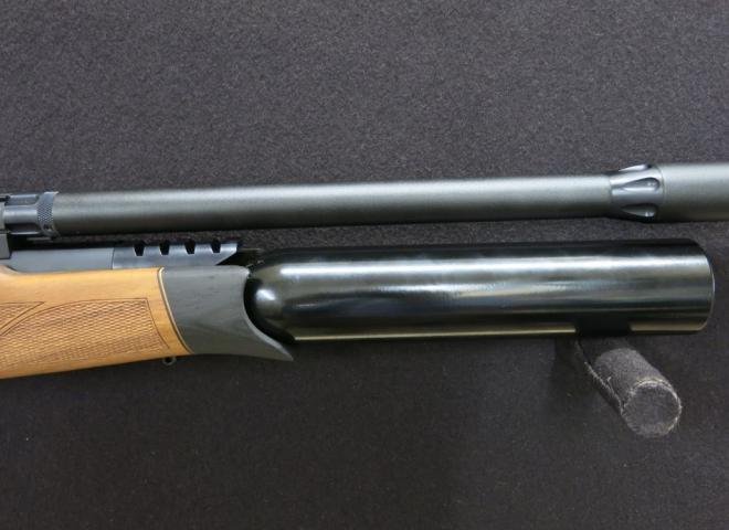 BSA .22 R10 SE Walnut Thumbhole (Complete With Moderator)