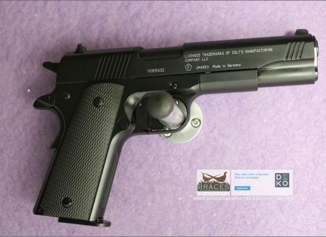 Umarex .177 Colt Government 1911 A1 Black