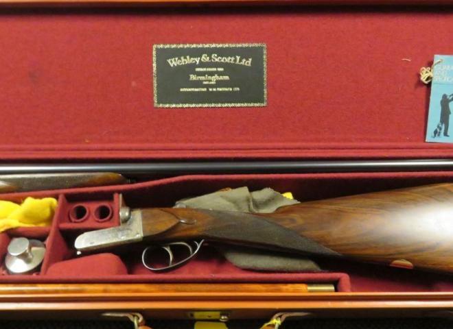 Webley & Scott 16 gauge 701
