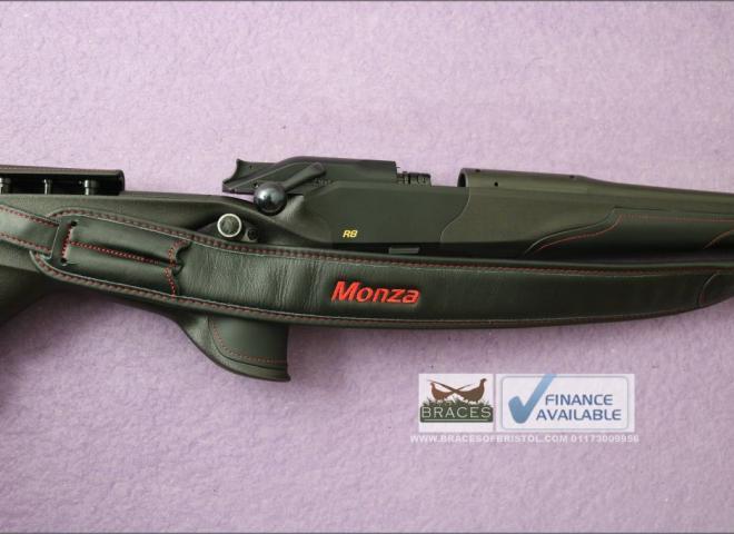 Blaser 6.5x55 R8 Ultimate Monza Leather Adjustable