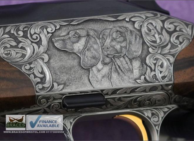Blaser 6.5mm Creedmoor R8 CUSTOM The Bavarian Mountain Hound (Emberleaf Knife Pairing)